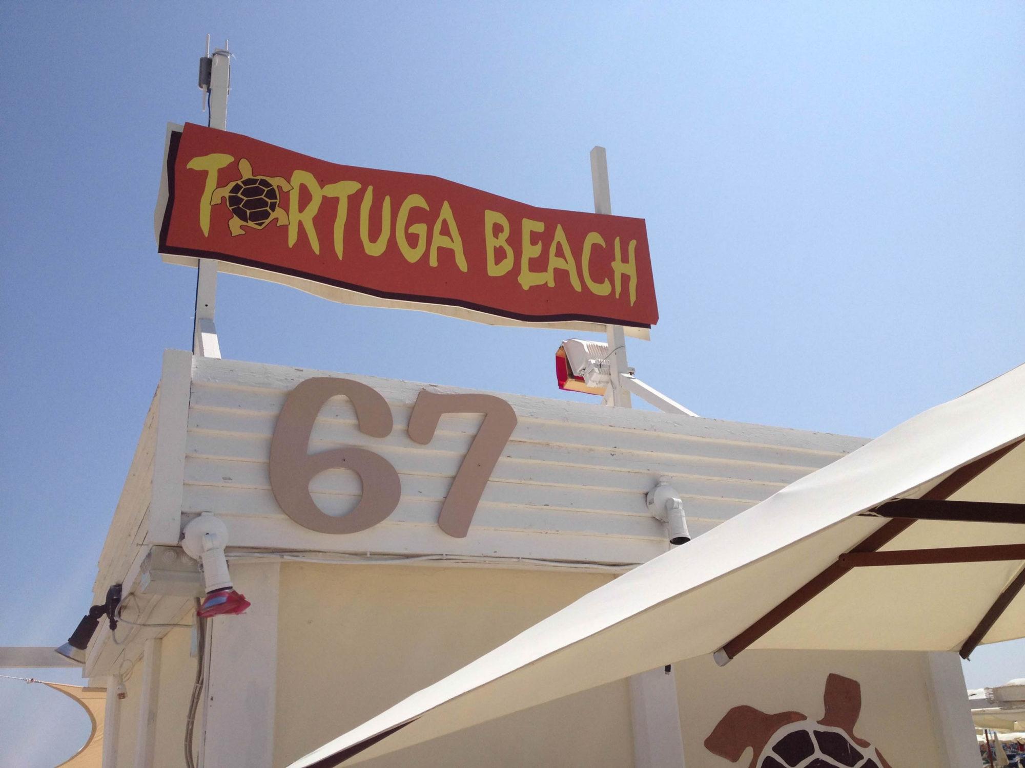 tortuga beach a rimini