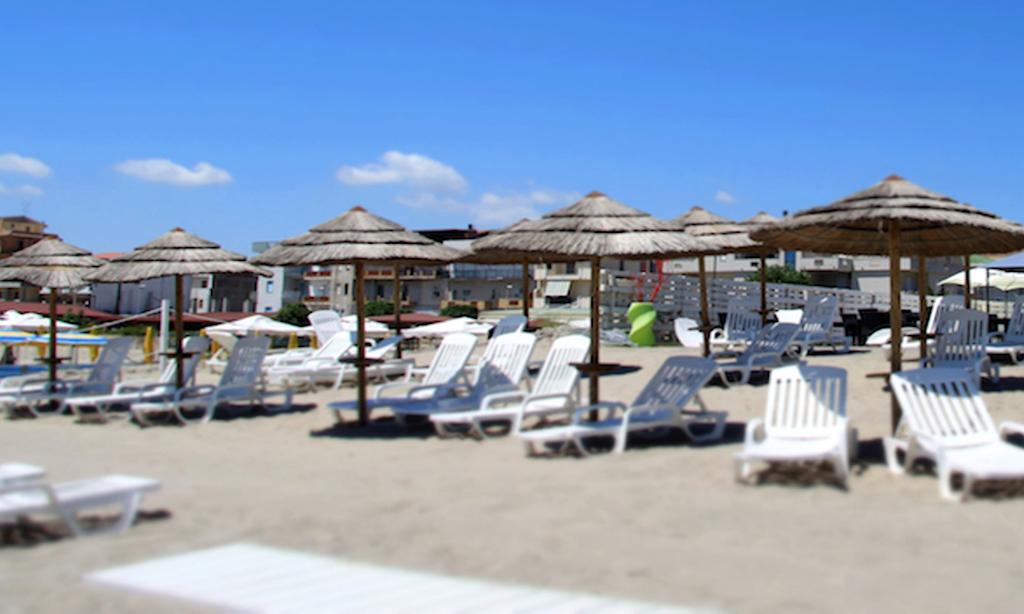 white beach in calabria
