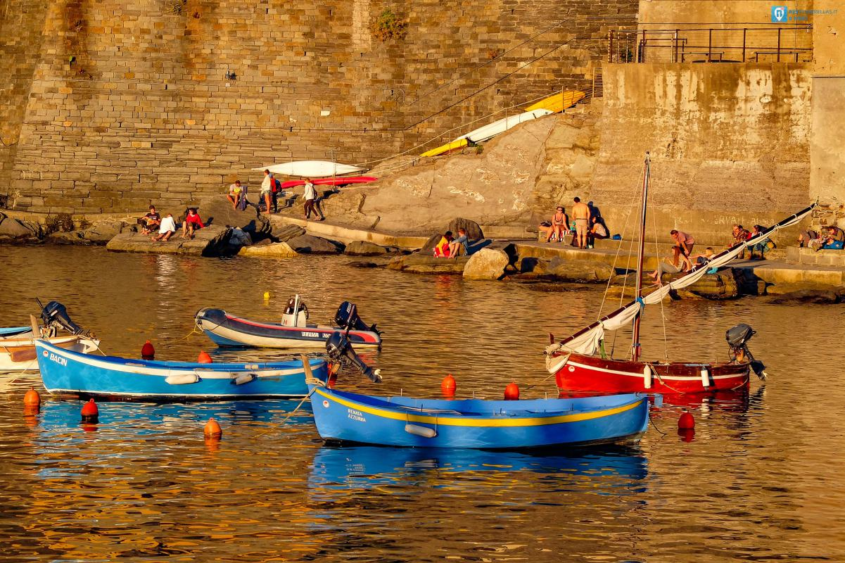baia dei pescatori liguria