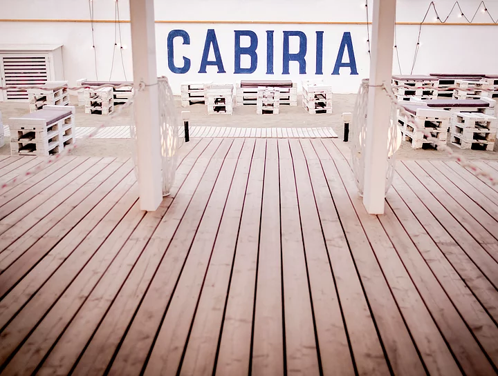 cabiria slow beach